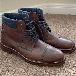 Johnston & Murphy Leather Boots